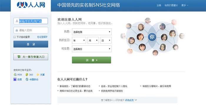Провальные стартапы. Социальная сеть Renren