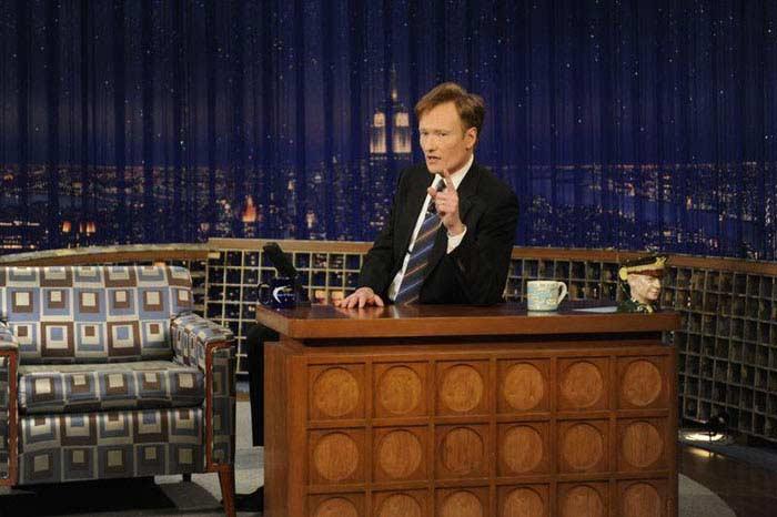 10 самых знаменитых ток-шоу в мире. «Поздно ночью с Конаном О'Брайном»