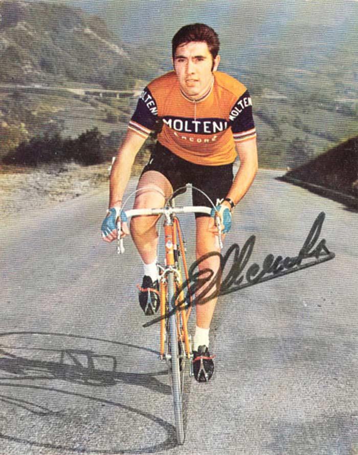 Самые быстрые велосипедисты. Эдди Меркх