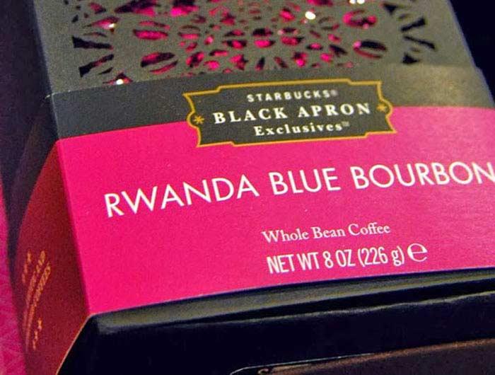 Starbucks Rwanda Blue Bourbon (Rwanda)