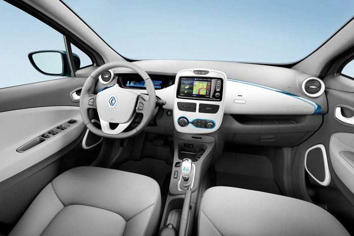 Топ 10 популярных электромобилей. Renault Zoe