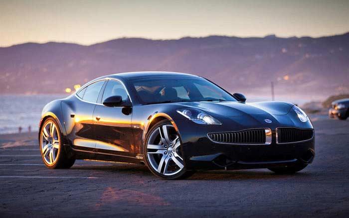 Топ 10 популярных электромобилей. Fisker Karma