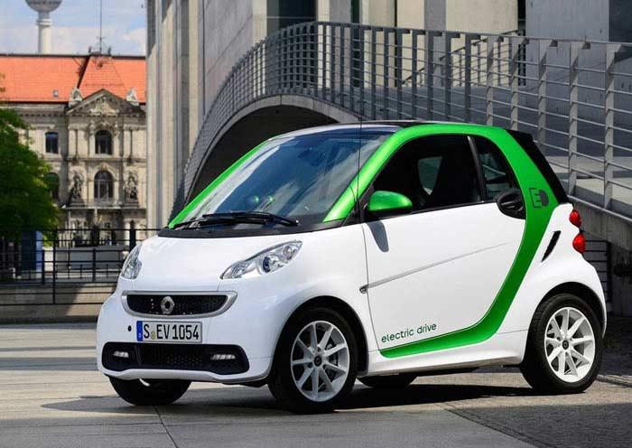 Топ 10 популярных электромобилей. Smart Electric Drive III