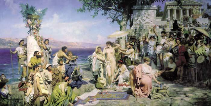 Египетские мистерии в честь бога Осириса