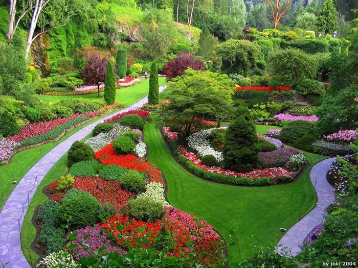 Сады Бутчартов (Британская Колумбия, Канада)