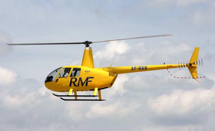Вертолет  Robinson R 44