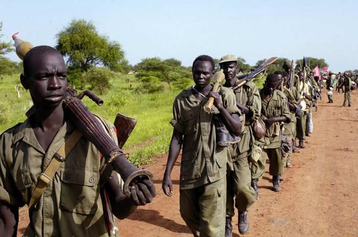 Гражданская война в Судане