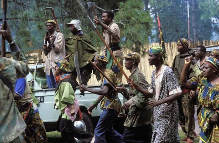 Гражданская война в Руанде