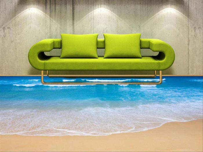 Наливной 3D-пол
