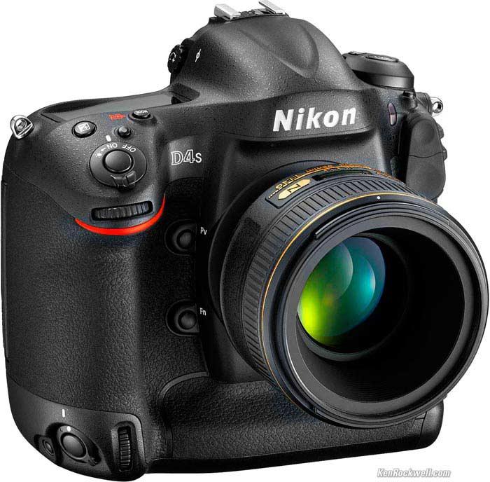 Фотоаппарат Nikon D4S