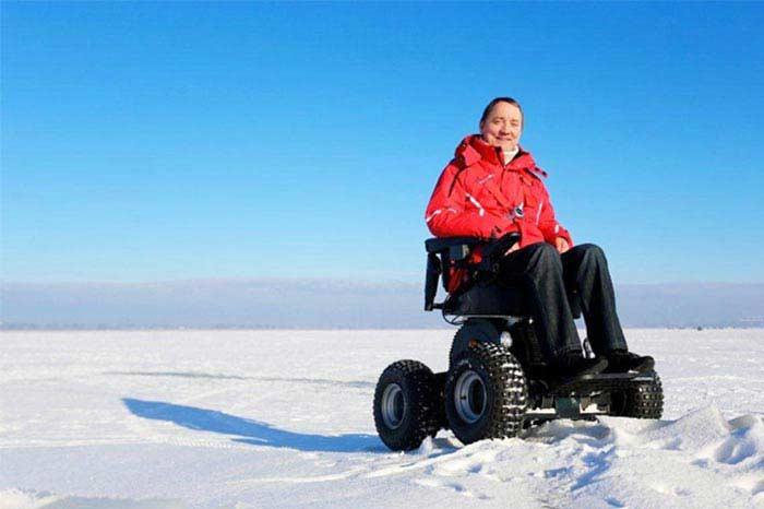 Инвалидная коляска-вездеход