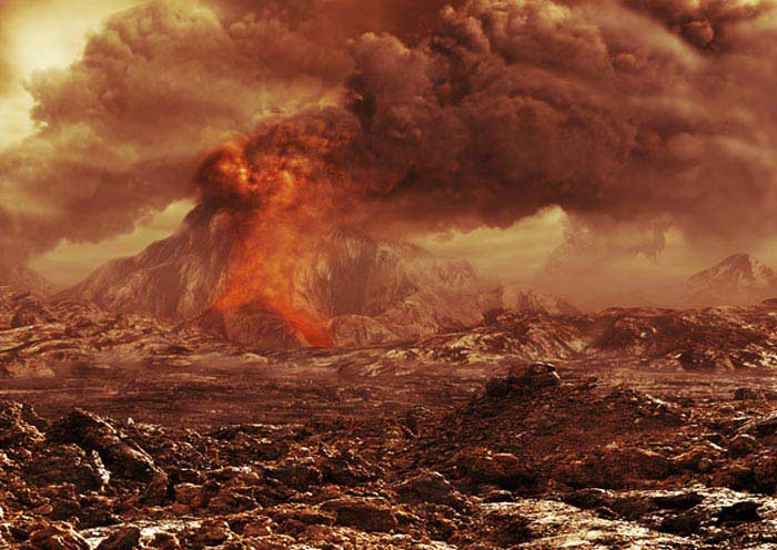 Вулканы на Венере
