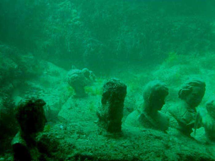 Затонувший античный город в Крыму