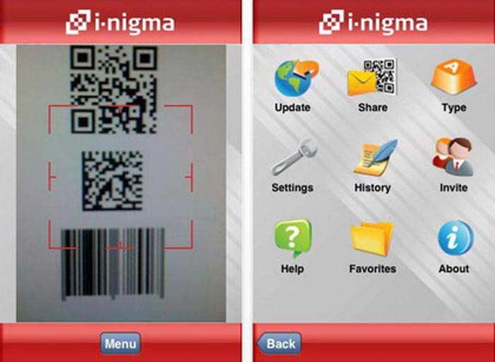 Распознавание штрих-кодов: i-Nigma