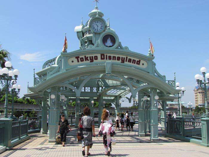Диснейленд в Токио (Япония)