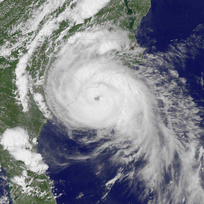 Ураган «Изель»