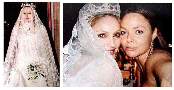 Свадебное платье от Стеллы МакКартни, $80 000 (Мадонна)
