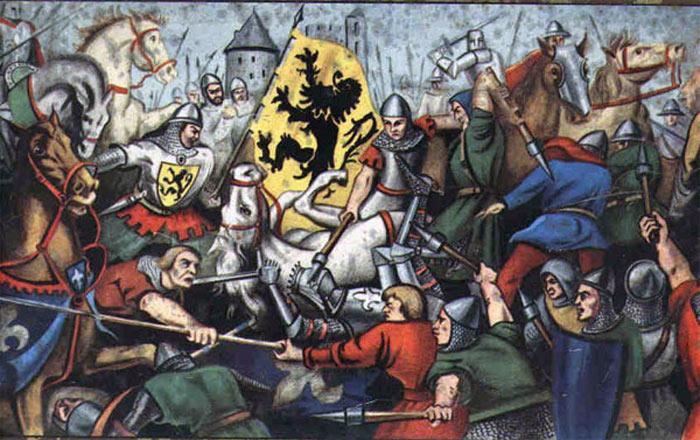Битва при КуртреилиБитва золотых шпор