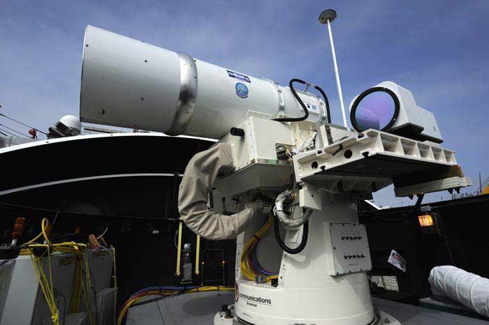 Лазер Lockheed Martin