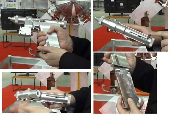 Лазерный пистолет СССР