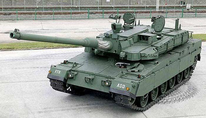 Танк К-2 Черная Пантера (Южная Корея)