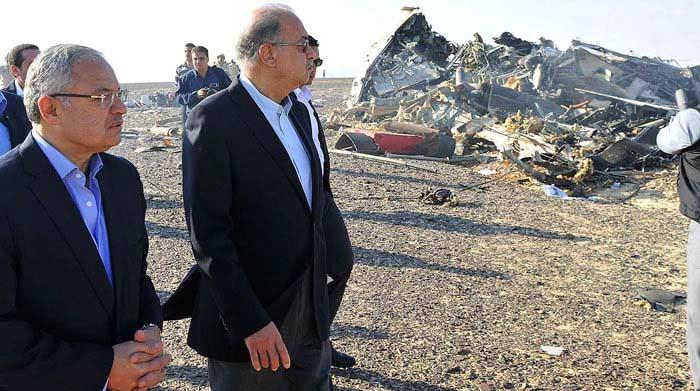 31 октября, Египет, полуостров Синай, Airbus 321