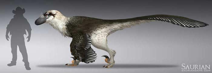 Крупнейший пернатый динозавр