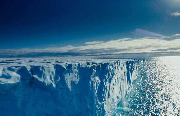 Рост массы арктических льдов
