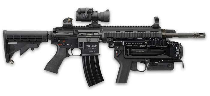 Heckler & Koch HK416(Германия)