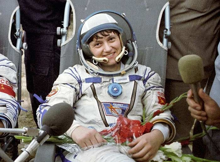 Светлана Савицкая (СССР)