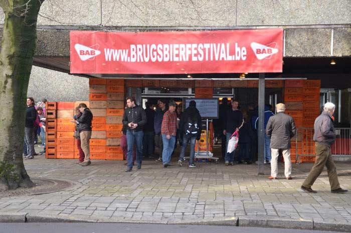 Пивной фестиваль Brugs. Брюгге, Бельгия