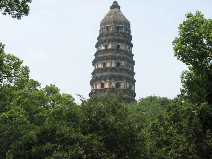 Пагода Tiger Hill, Китай