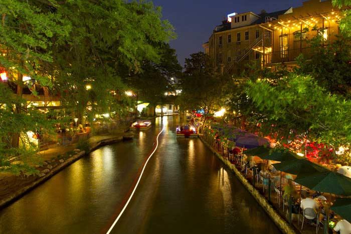 Сан-Антонио, город и река