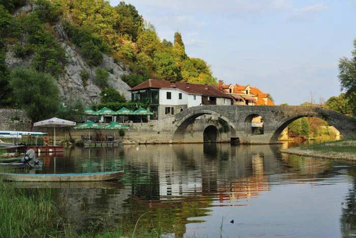 Река Црноевича город и река (Черногория)