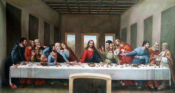 От Иисуса до Иуды (1495 - 1498)