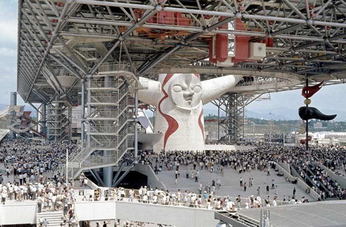 Крупнейшее первое в мире лазерное шоу