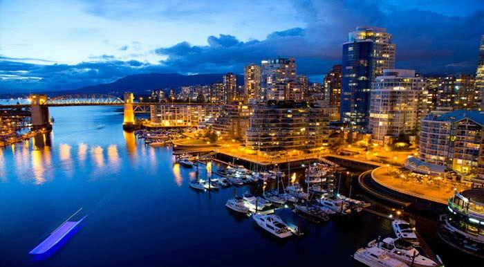 Ванкувер — центр торговых связей