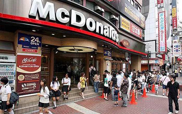 McDonald's (Токио, Япония)
