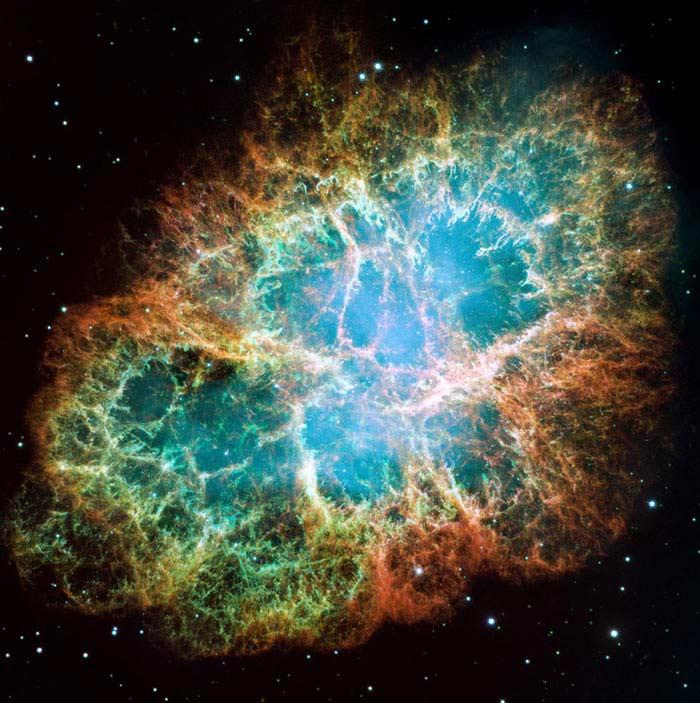 Остатки сверхновой на Луне