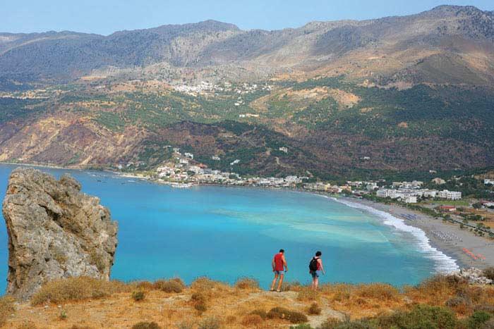 Пляж Плакиас, Греция
