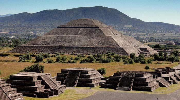пирамиды в Чолула
