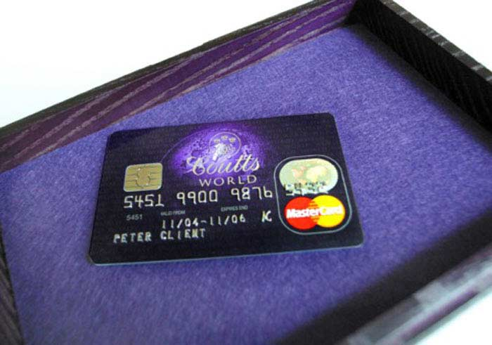 Coutts World Silk Card