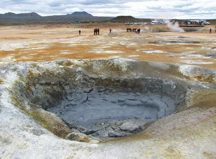 Подземные вулканы Намаскарда