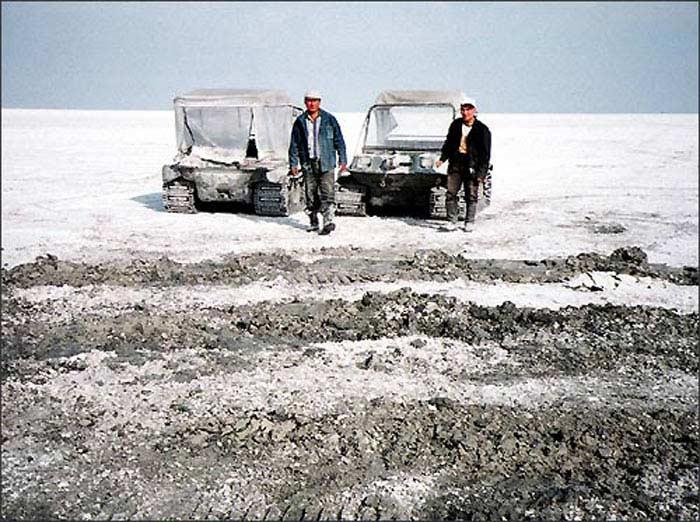 Аральское море является одним из самых соленых озер на планете
