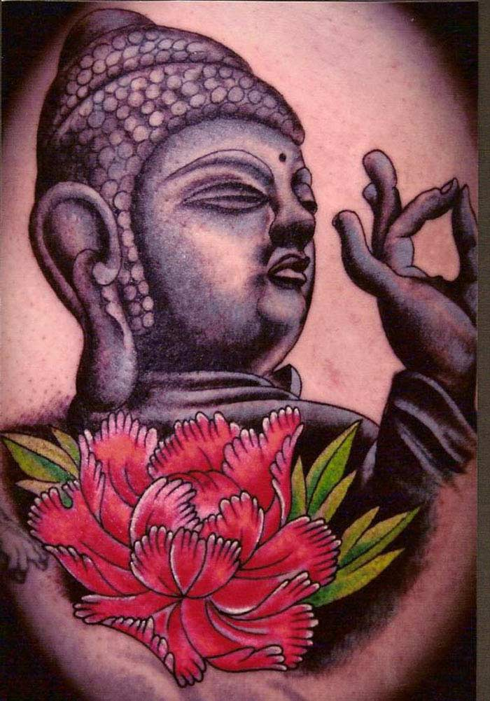Что: татуировки с Буддой и его именем