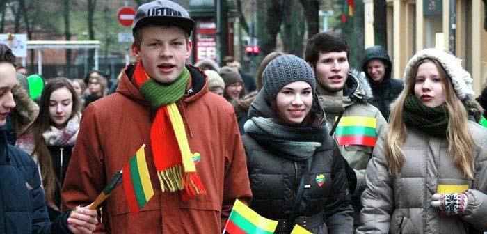 Литва люди
