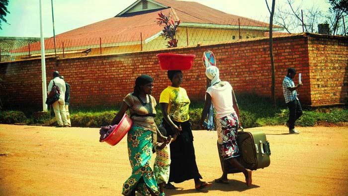 Руанда люди