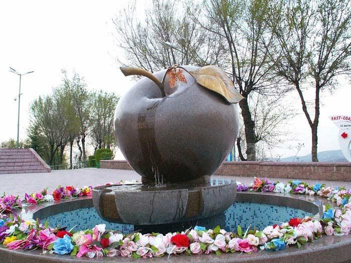 Алма-Ата – яблочное место