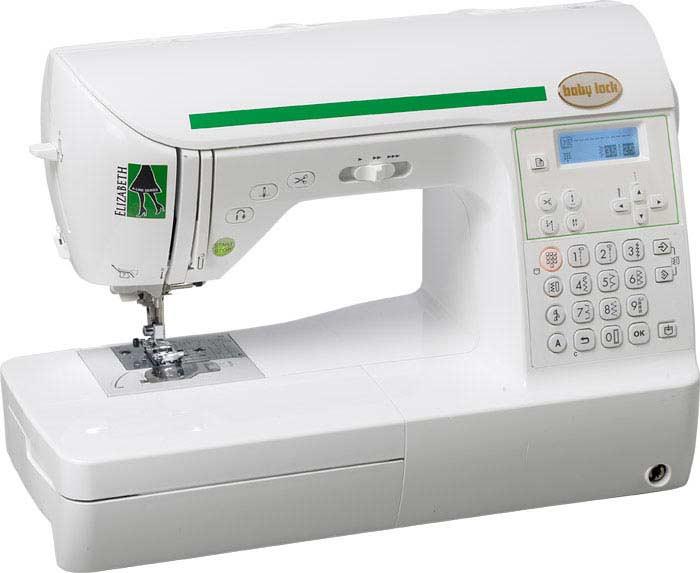 Baby Lock: 25 моделей швейных машинок