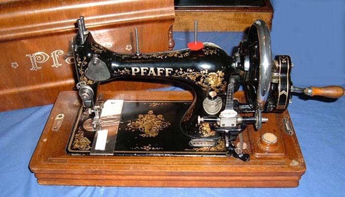 Pfaff: 18 моделей швейных машинок